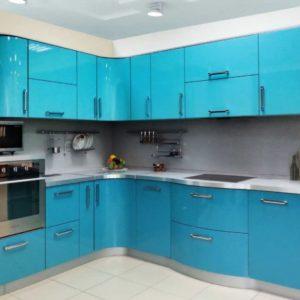 Голубые кухни на заказ