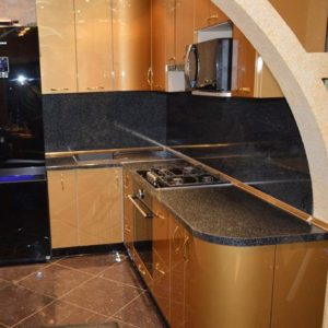 Золотые кухни в Москве на заказ